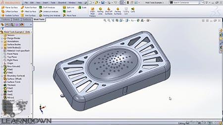 دانلود آموزش سالیدورک - ابزار های قالب | SolidWorks - Mold Tools 3