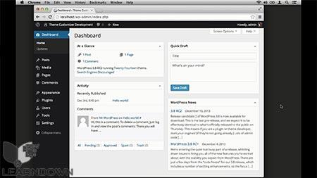 دانلود آموزش سفارشی ساز پوسته وردپرس| The WordPress Theme Customizer 2
