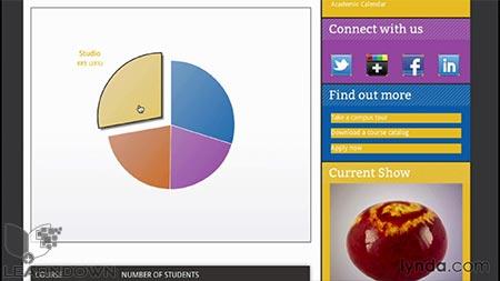 دانلود آموزش سی اس اس : فرمت بندی اطلاعات دیداری  CSS: Formatting Visual Data 2