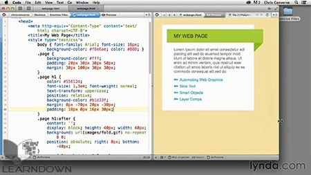 D:\site\learndown\post data\1395\Lynda\Web\Design the Web Graphics and CSS Pseudo-Elements 3