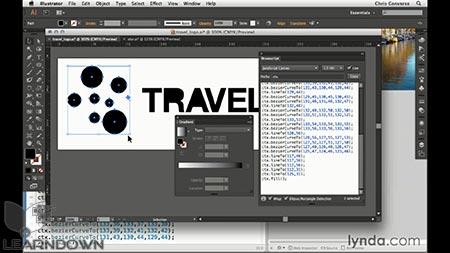 دانلود آموزش طراحی وب : تبدیل ایلستریتور به انیمیشن اچ تی ام ال 5 کانواس | Design the Web: Illustrator to Animated HTML5 Canvas 3