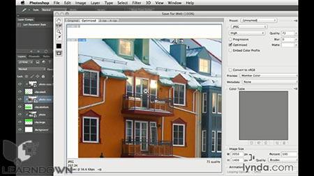 دانلود آموزش طراحی وب : اندازه های گرافیکی متفاوت   Design the Web: Multiple Graphic Sizes 3