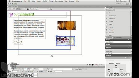 دانلود آموزش طراحی وب : ابزار اسلایس   Design the Web: Slice Tool 3