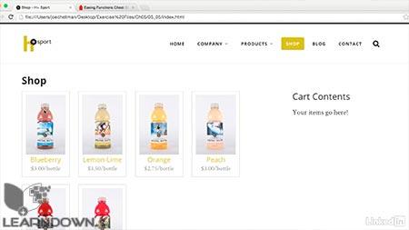 دانلود آموزش جی کوئری برای طراحان وب | jQuery for Web Designers 3