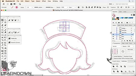 دانلود آموزش طراحی وکتور گرافیکی: آیکون گرافی | Drawing Vector Graphics Iconography 3