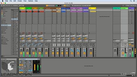 دانلود آموزش ایبلتون لایو ده | Ableton Live 10 Essential Training 3
