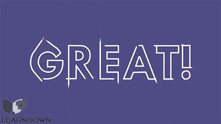 دانلود آموزش تایپوگرافی در افترافکت | After Effects Beginner - Typography Reveal in After Effects 2