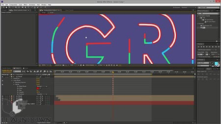 دانلود آموزش تایپوگرافی در افترافکت | After Effects Beginner - Typography Reveal in After Effects 3