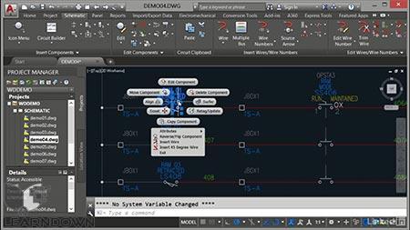 دانلود آموزش اتوکد الکتریکال | AutoCAD Electrical Essential Training 3