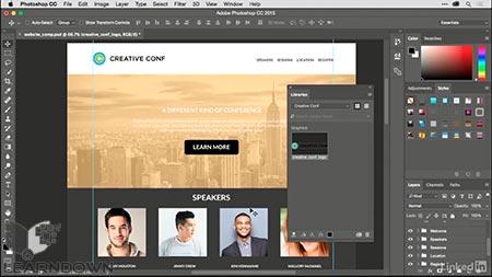 دانلود آموزش ساخت وبسایت تک صفحه ای در میوز | Building a Single-Page Website in Muse