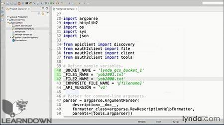 دانلود آموزش ذخیره سازی ابری گوگل و دیتا | Google Cloud Storage And Data Essential Training 3