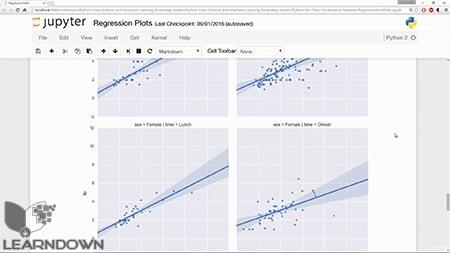 دانلود آموزش پیتون برای علوم داده و آموزش ماشین  بوتکمپ | Python for Data Science and Machine Learning Bootcamp 3
