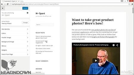 دانلود آموزش وردپرس | WordPress Essential Training 3