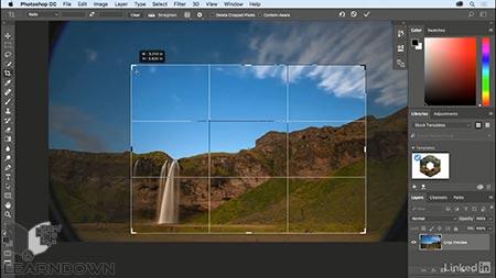 دانلود آموزش فتوشاپ 2018 : طراحی | Photoshop CC 2018 Essential Training: Design