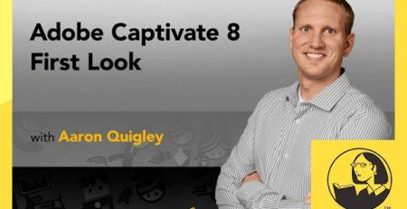 دانلود آموزش کپتیویت 8 در اولین نگاه - Adobe Captivate 8 First Look