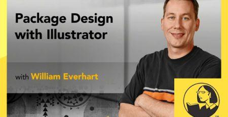دانلود آموزش طراحی بسته بندی با ایلوستریتور - Package Design with Illustrator