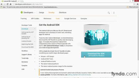 دانلود آموزش اندروید sdk - Android SDK Essential Training 2