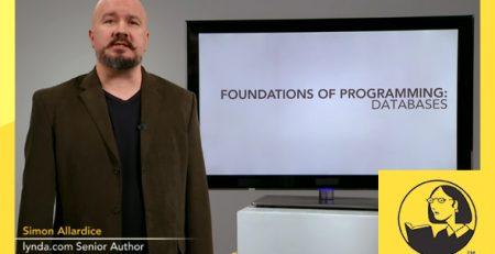 دانلود آموزش مبانی برنامه نویسی: پایگاه داده-Foundations of Programming: Databases