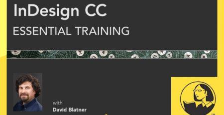 دانلود آموزش ایندیزاین سی سی-InDesign CC Essential Training
