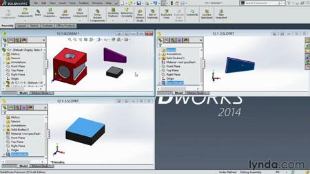 دانلود آموزش سالید ورک 2014- SolidWorks 2014 Essential Training 2