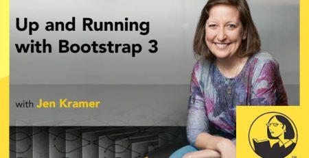 دانلود آموزش بوت استرپ 3 - Up and Running with Bootstrap 3