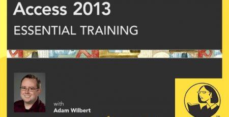 دانلود آموزش اکسس 2013 - Access 2013 Essential Training