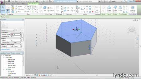 دانلود آموزش مدل سازی پیشرفته در رویت آرشیتکت - Advanced Modeling in Revit Architecture-2