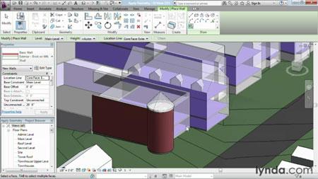 دانلود آموزش مدل سازی پیشرفته در رویت آرشیتکت - Advanced Modeling in Revit Architecture-3