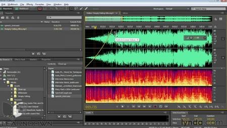 دانلود آموزش اودیشن سی سی - Audition CC Essential Training 3