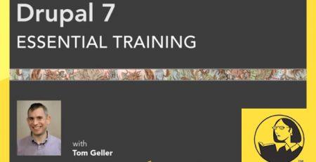 دانلود آموزش دروپال 7 - Drupal 7 Essential Training