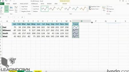 دانلود آموزش اکسل 2013: تکنیک های فرمت بندی پیشرفته - Excel 2013: Advanced Formatting Techniques-2