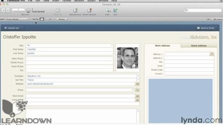 دانلود آموزش فایل میکر پرو 12 - FileMaker Pro 12 Essential Training-2