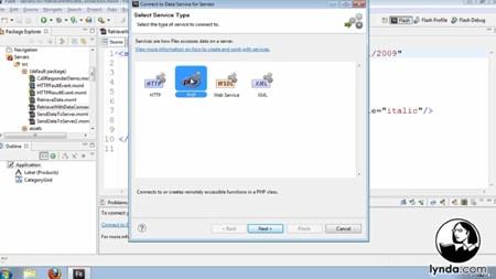 دانلود آموزش فلش بیلدر 4 و فلکس 4 - Flash Builder 4 and Flex 4 Essential Training
