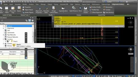 دانلود آموزش اتوکد سیویل تری دی 2015 - Learning AutoCAD Civil 3D 2015 Training Video 3