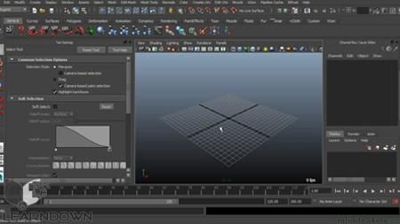 دانلود آموزش مایا 2015 - Learning Autodesk Maya 2015 Training Video-2
