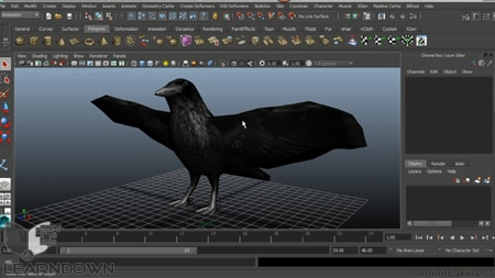 دانلود آموزش مایا 2015 - Learning Autodesk Maya 2015 Training Video-3