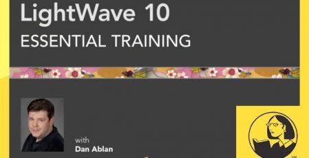 دانلود آموزش لایت ویو 10 - LightWave 10 Essential Training