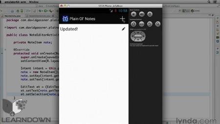دانلود آموزش ساخت اپلیکیشن یادداشت بردار برای اندروید 2013 - Building a Note-Taking App for Android (2013)-2