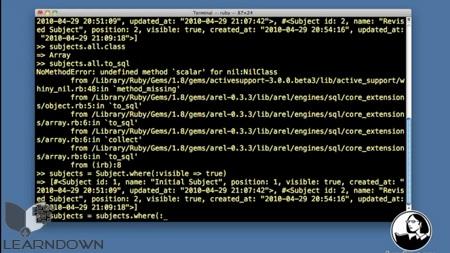 دانلود آموزش روبی آن ریلز - Ruby on Rails 3 Essential Training-2
