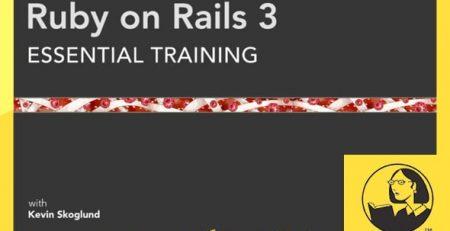 دانلود آموزش روبی آن ریلز - Ruby on Rails 3 Essential Training