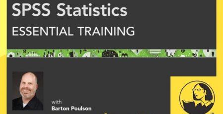 دانلود آموزش اس پی اس اس 2013 - (2013) SPSS Statistics Essential Training