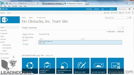 دانلود آموزش شیرپوینت آنلاین - SharePoint Online Essential Training-2