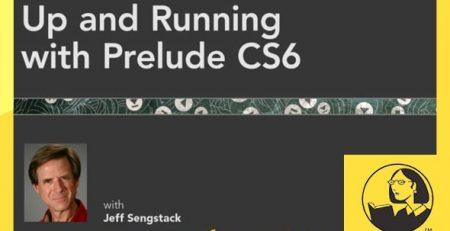 دانلود آموزش پریلود سی اس 6 - Up and Running with Prelude CS6