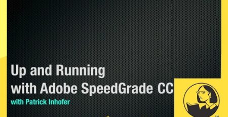 دانلود آموزش اسپید گرید سی سی - Up and Running with SpeedGrade CC