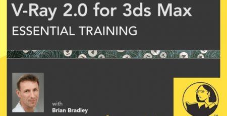 دانلود آموزش وی ری 2 برای تری دی مکس - V-Ray 2.0 for 3ds Max Essential Training