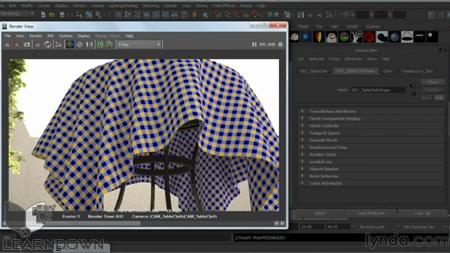 دانلود آموزش وی ری 2 برای مایا - V-Ray 2.0 for Maya Essential Training 2