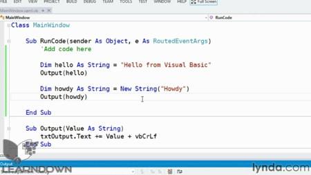 دانلود آموزش ویژوال بیسیک - Visual Basic Essential Training-2