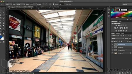 دانلود آموزش پرسپکتیو در فتوشاپ - Working with Perspective in Photoshop-2