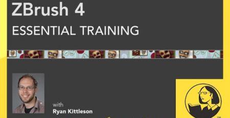 دانلود آموزش زیبراش - ZBrush 4 Essential Training