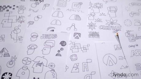 دانلود آموزش اصول طراحی لوگو : Foundations of Logo Design